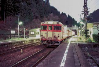 JR高山本線・焼石駅(岐阜県:1998年4月)