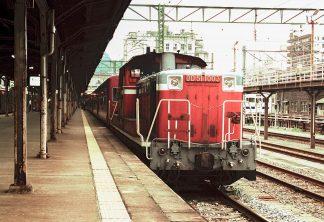 JR鹿児島本線・門司港駅(福岡県:1998年6月)