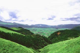 阿蘇外輪山(熊本県:1998年6月)