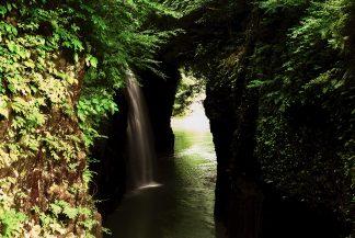 高千穂・真名井の滝(宮崎県:1998年6月)