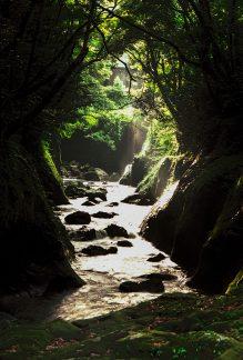 高千穂峡(宮崎県:1998年6月)