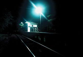 旧高千穂鉄道・天岩戸駅(宮崎県:1998年6月)
