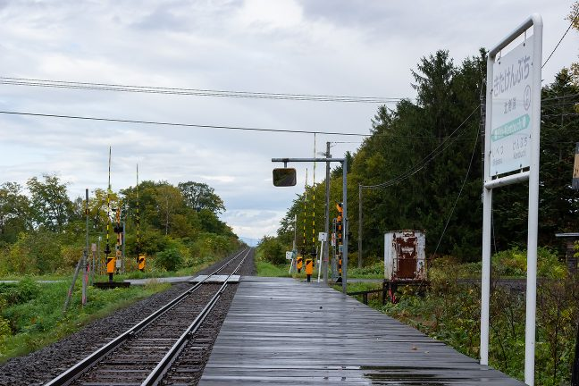 この駅名標のある風景を記憶に留めたい