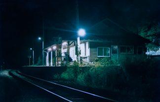 JR小海線・松原湖駅(長野県:1998年8月)