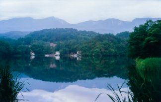 松原湖駅(長野県:1998年8月)