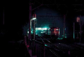 JR篠ノ井線・姨捨駅(長野県:1998年8月)