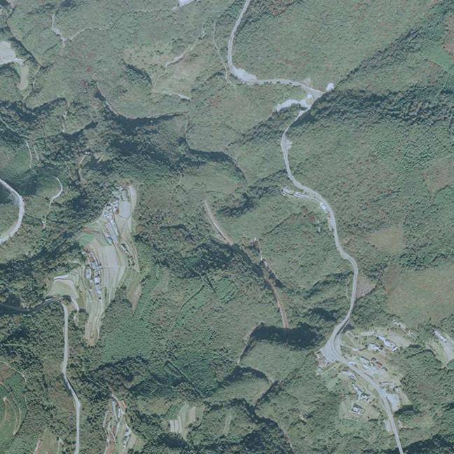旧版空撮画像(1992/10/28(平4)):坪尻駅周辺図