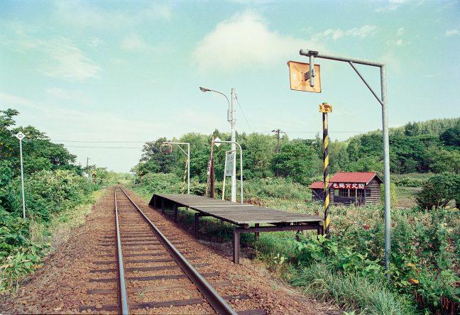 JR宗谷本線・北星駅(北海道:2001年8月)