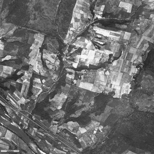 旧版空撮画像(1948/08/27(昭23)):北星駅周辺図