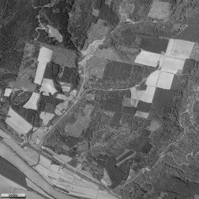 旧版空撮画像(1986/06/05(昭61)):北星駅周辺図