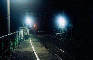 JR伯備線・布原駅(岡山県:2000年8月)
