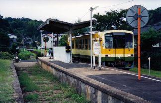 JR木次線・出雲大東駅(島根県:2000年8月)