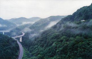 JR木次線・出雲坂根~三井野原間とおろちループ(島根県:2000年8月)