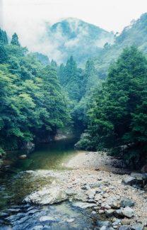 三段峡(広島県:2000年8月)