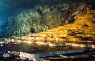 秋芳洞(山口県:2000年8月)