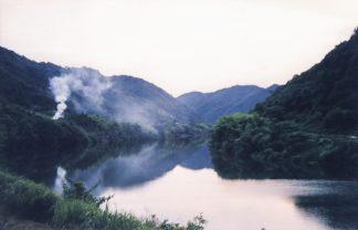 JR三江線・潮駅付近(島根県:2000年8月)