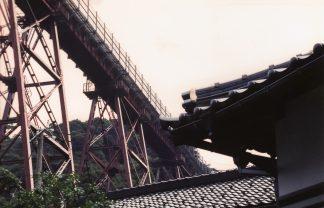 JR山陰本線・余部橋梁(兵庫県:2000年8月)