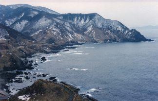 津軽半島・竜飛岬(青森県:2001年1月)