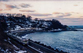 JR五能線・驫木駅(青森県:2001年1月)
