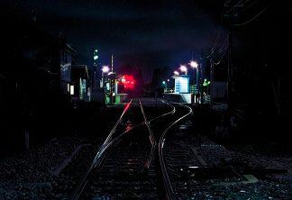 のと鉄道能登線・鵜飼駅(石川県:2001年3月)
