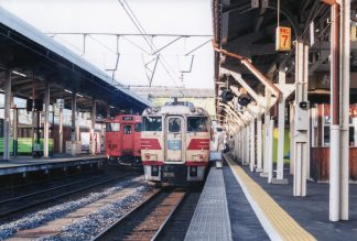JR山陰本線・米子駅・特急「おき」(鳥取県:2001年6月)