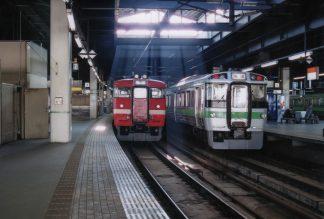 JR函館本線・札幌駅(北海道:2001年6月)