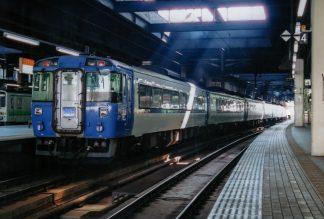 JR函館本線・札幌駅・特急「北斗」(北海道:2001年6月)