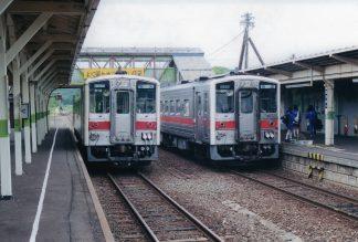 JR宗谷本線・幌延駅(北海道:2001年6月)
