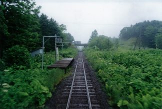 JR宗谷本線・南下沼駅(廃駅)(北海道:2001年6月)