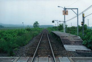 JR宗谷本線・南幌延駅(北海道:2001年6月)