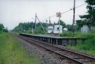 JR宗谷本線・安牛駅(廃駅)(北海道:2001年6月)