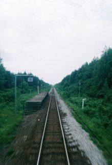 JR宗谷本線・北剣淵駅(廃駅)(北海道:2001年6月)