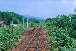 JR宗谷本線・北星駅(廃駅)(北海道:2001年6月)