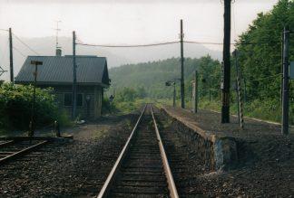 JR宗谷本線・豊清水駅(廃駅)(北海道:2001年6月)