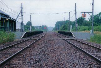 JR宗谷本線・雄信内駅(北海道:2001年6月)