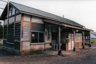 JR石北本線・上白滝駅(廃駅)(北海道:2001年6月)