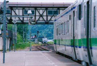 JR石北本線・留辺蘂駅(北海道:2001年6月)