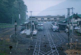 JR石北本線・遠軽駅(北海道:2001年6月)
