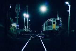JR久留里線・上総亀山駅(千葉県:2001年7月)
