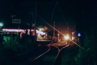 銚子電鉄・外川駅(千葉県:2001年7月)
