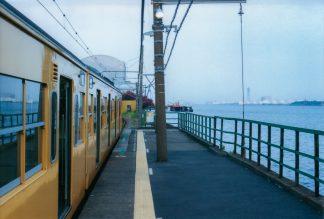 JR鶴見線・海芝浦駅(神奈川県:2001年7月)