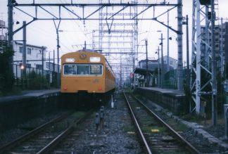 JR鶴見線・武蔵白石駅(神奈川県:2001年7月)