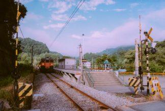 JR吾妻線・大前駅(群馬県:2001年8月)