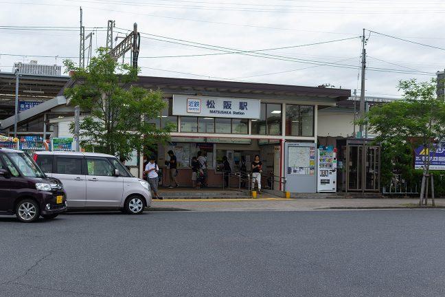 三重県下の中核駅である松阪駅の近鉄正面口