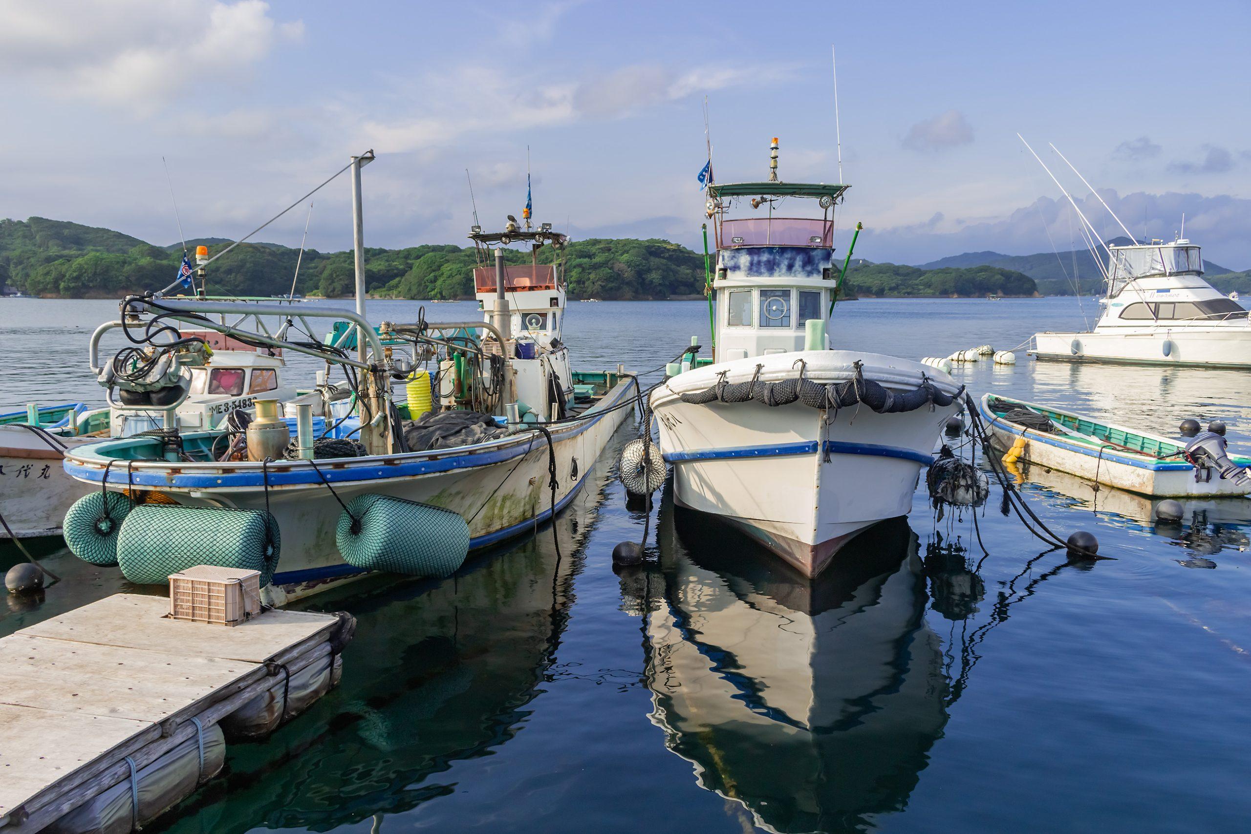 志摩半島・浜島港(三重県:2016年7月)