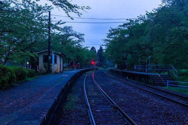 のと鉄道七尾線・能登鹿島駅(石川県:2021年4月)