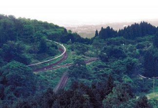 JR肥薩線・大畑駅(熊本県:1999年8月)