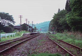 JR豊肥本線・波野駅(熊本県:1999年8月)