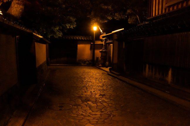 長町武家屋敷跡(石川県:2021年4月)