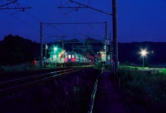 JR津軽海峡線・津軽今別駅(青森県:2001年8月)